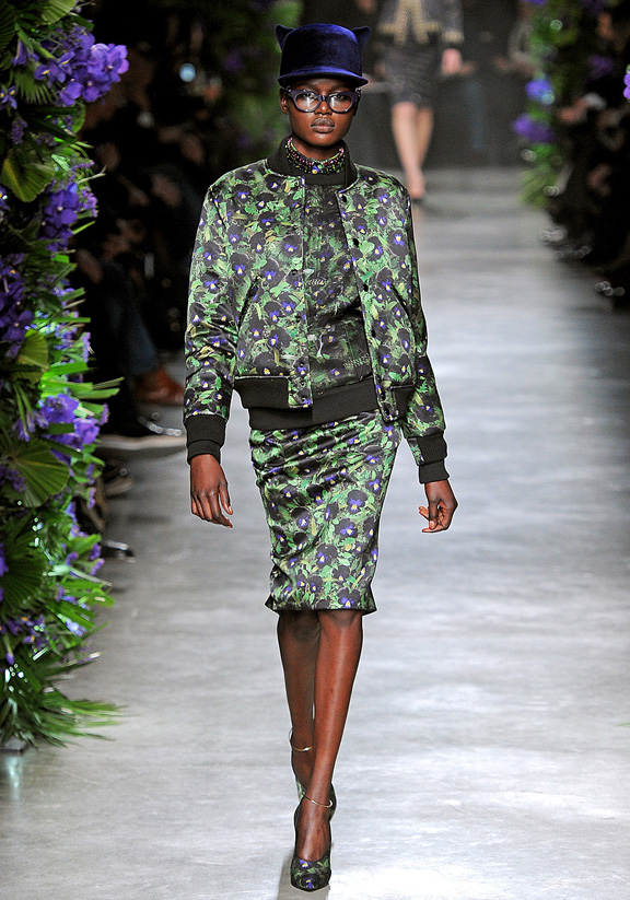 Givenchy, Riccardo Tisci, autumn winter 2011, Paris fashion week, womenswear