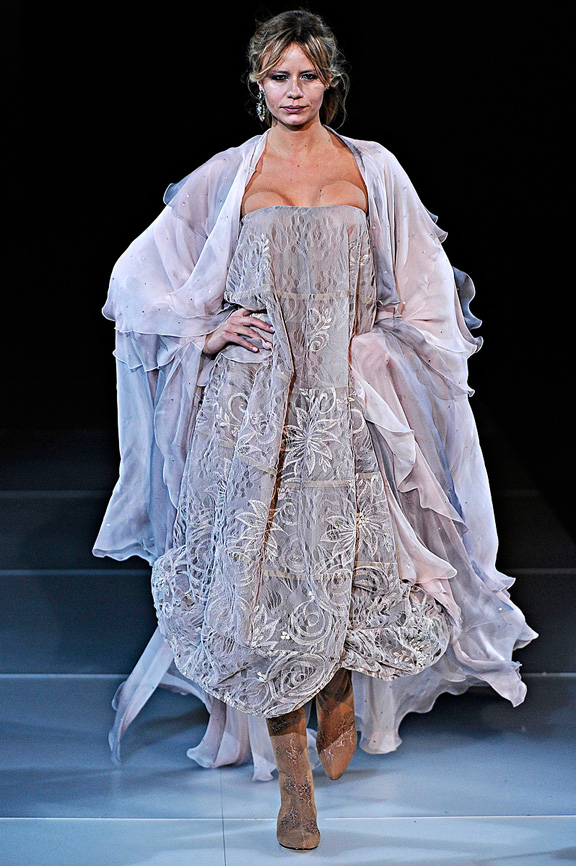 Giorgio Armani, autumn winter 2011, Milan fashion week, womenswear