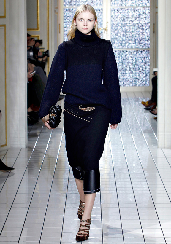 Balenciaga, Nicolas Ghesquiere, autumn winter 2011, Paris fashion week, women