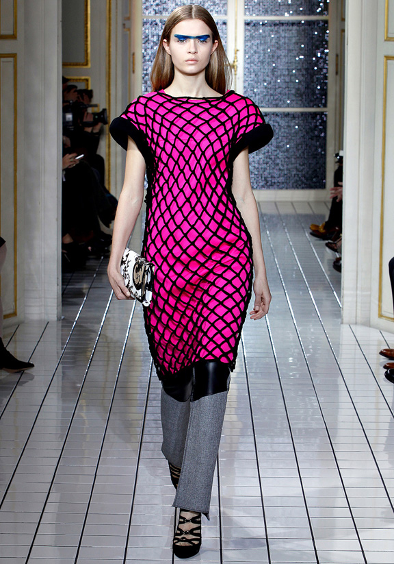 Balenciaga, Nicolas Ghesquiere, autumn winter 2011, Paris fashion week,