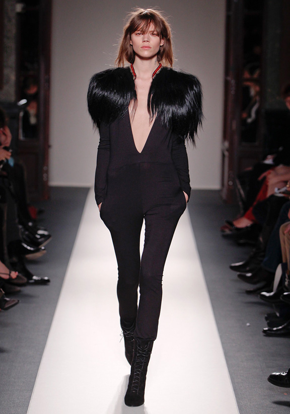 Balmain, Christophe Decarnin, Emmanuelle Alt, autumn winter 2011, Paris fashion week, womenswear