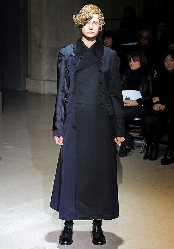 Comme des Garcons, Rei Kawakubo, Japanese designers, autumn winter 2011, fur, Paris fashion week, womenswear