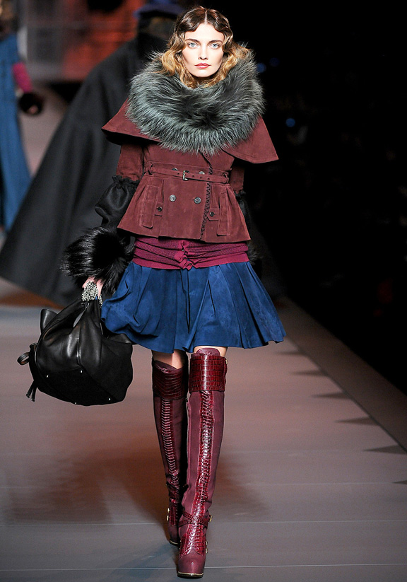Christian Dior, John Galliano, autumn winter 2011, Paris fashion week, womenswear