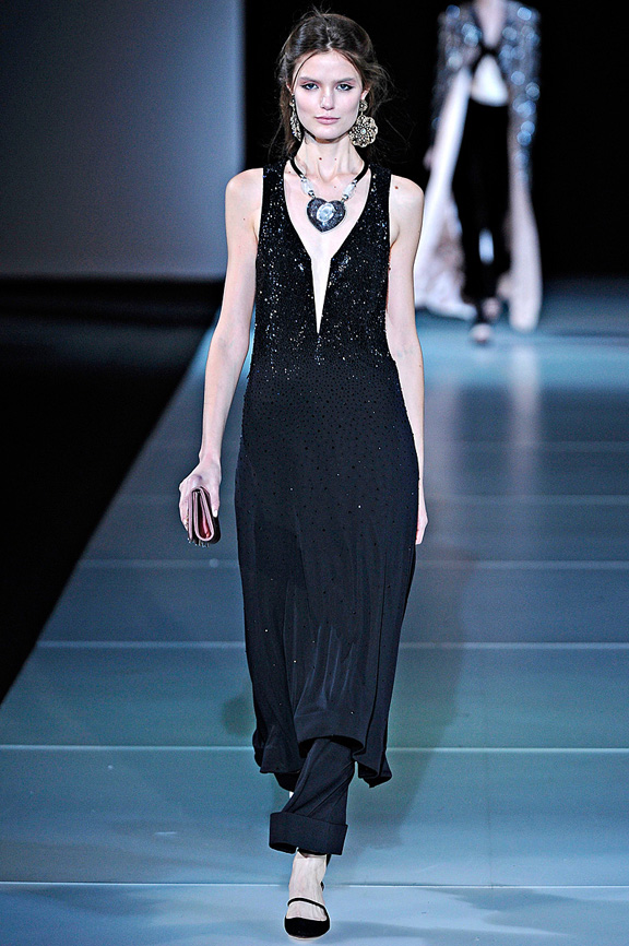 Giorgio Armani, autumn winter 2011, Milan fashion week, womensw