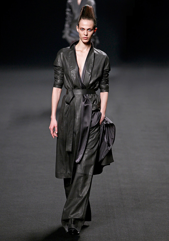 Haider Ackermann, autumn winter 2011, Paris fashion week, womenswear