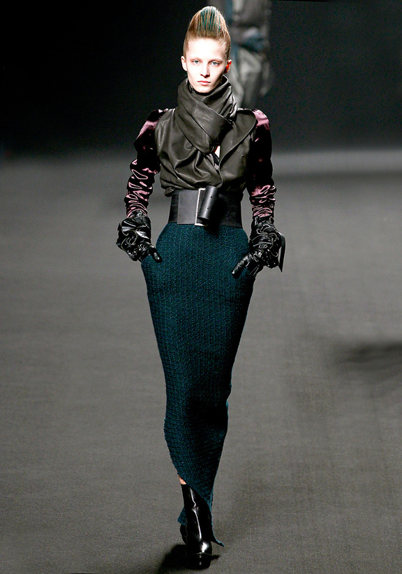 Haider Ackermann, autumn winter 2011, Pari