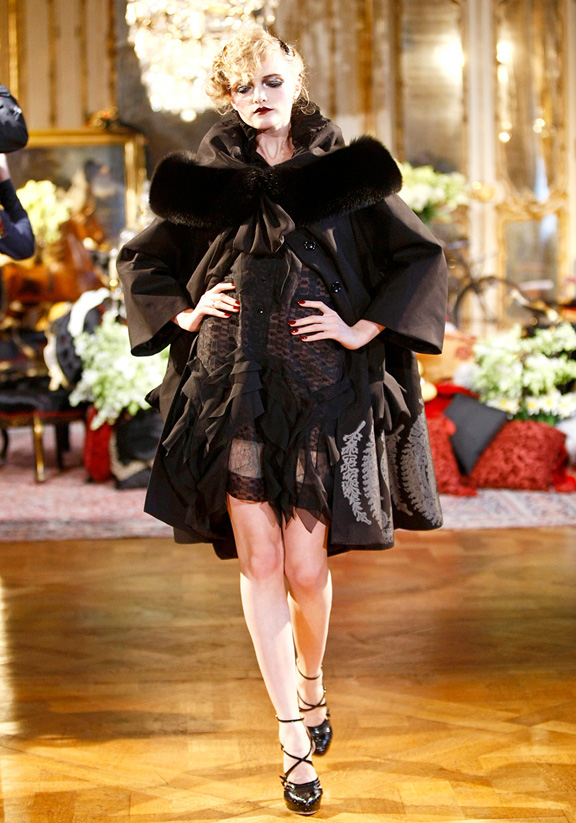 John Galliano, autumn winter 2011, Paris fashion week, womenswear