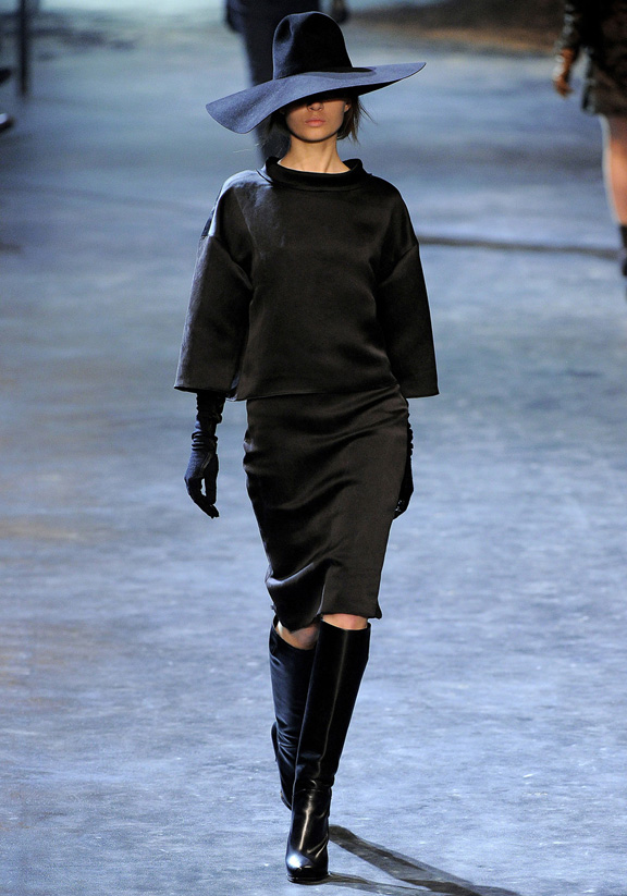 Lanvin, Alber Elbaz, autumn winter 2011, Paris fashion week, womenswear