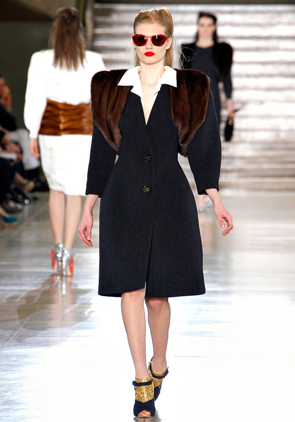 Miu Miu, Prada, Miuccia Prada, fur, autumn winter 2011, Paris fashion week, womenswear