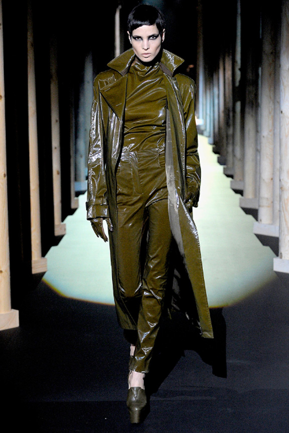 Mugler, Nicola Formichetti, Lady Gaga, autumn winter 2011, Paris fashion week, womenswear