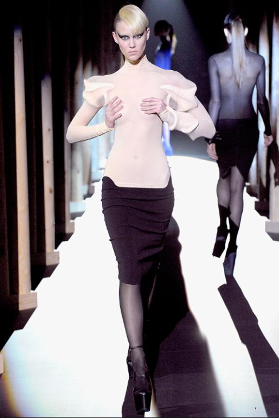 Mugler, Nicola Formichetti, Lady Gaga, autumn winter 2011, Paris fashion week, womenswear