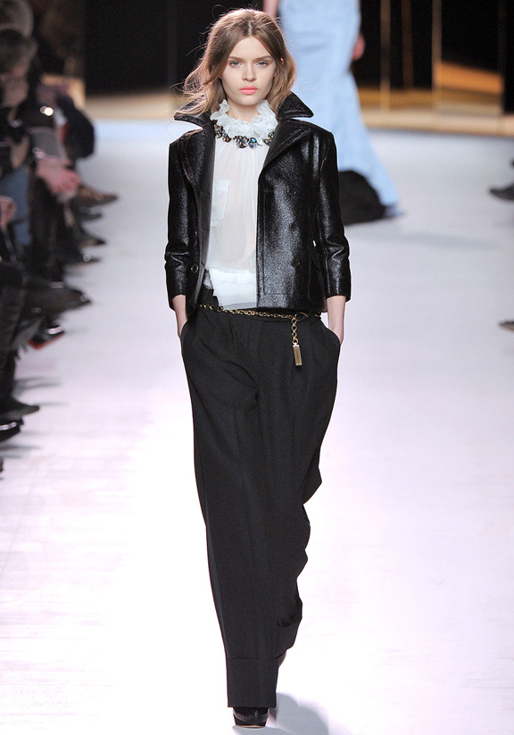 Nina Ricci, Peter Copping, autumn winter 2011, Paris fashion week, womenswear