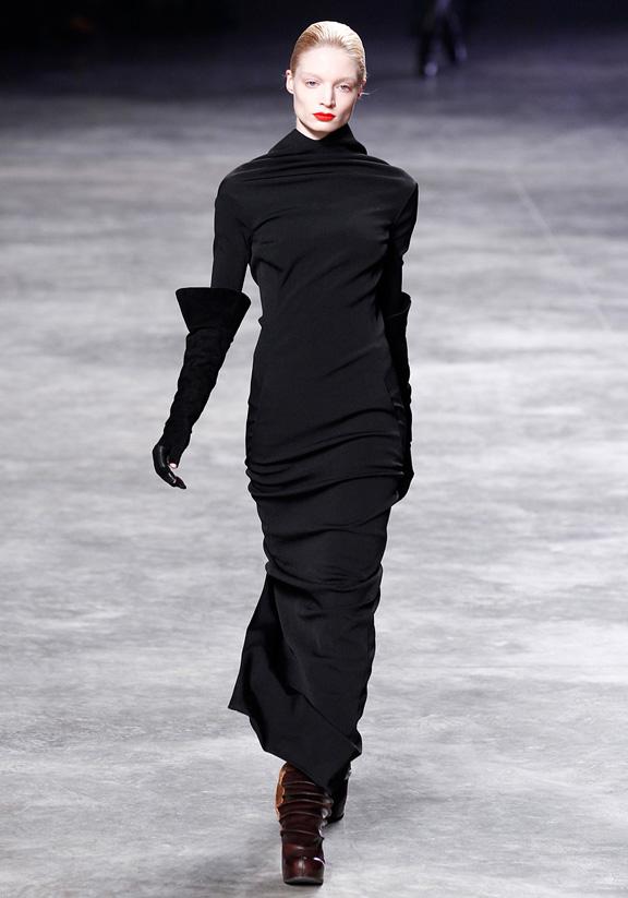 Rick Owens, autumn winter 2011, Paris fashion week, womenswear