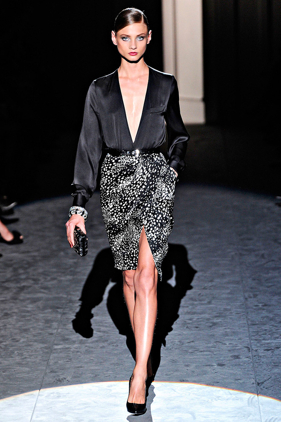 Salvatore Ferragamo, power dressing,  autumn winter 2011, Milan fashion week, womenswear