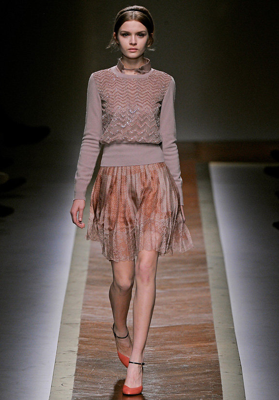 Valentino, Maria Grazia Chiuri, Pier Paolo Piccioli, autumn winter 2011, Paris fashion week, womenswear