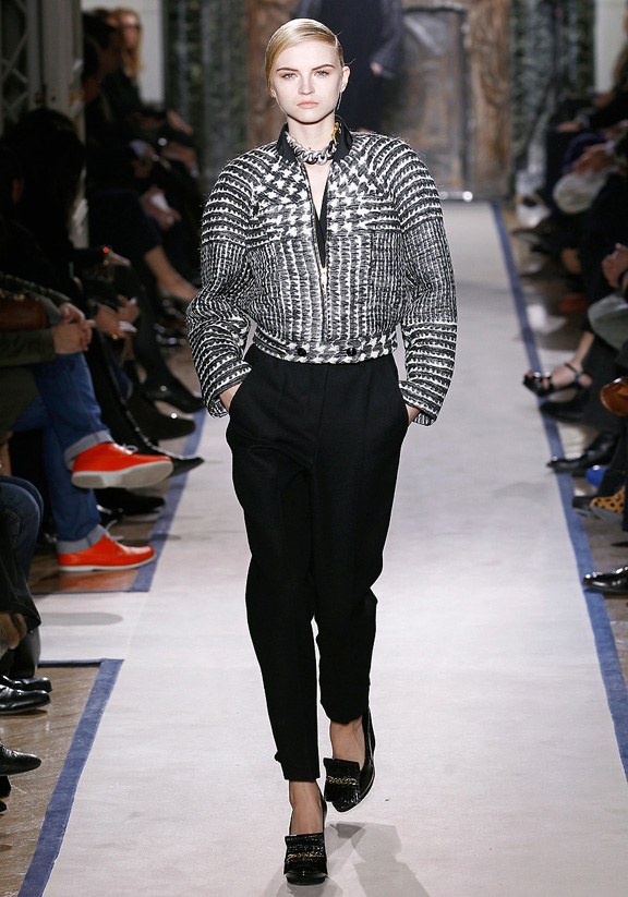 Yves Saint Laurent, Stefano Pilati, autumn winter 2011, Paris fashion week, womenswear