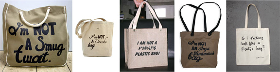 I'm Not A PLastic Bag, bag parodies