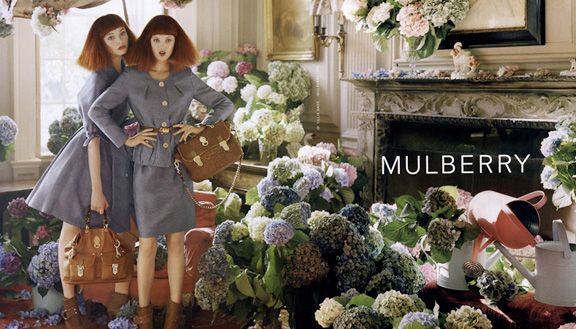 Edward Enninful, Tim Walker, Mulberry, stylist, advertising campaign, Mulberry