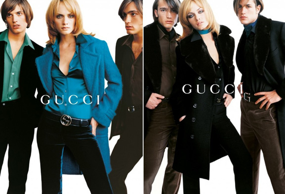 Amber Valleta, Gucci, Tom Ford, Tom Pecheux, Marc Lopez, Mario Testino, fashion advertising, stylist
