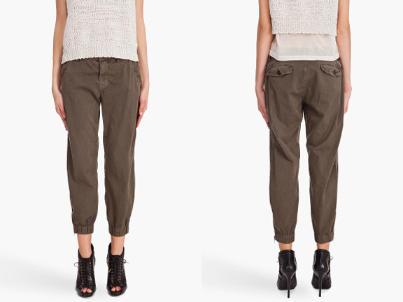 Gap, J Brand, DKNY, Dace, cropped trousers, chino pants, shop online, spring summer 2011