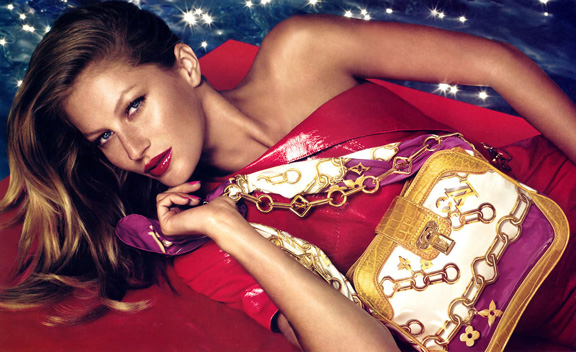Katie Grand, Gisele, Louis Vuitton, fashion advertising, styling