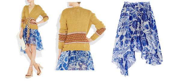 Rodarte, Net A Porter, designer clothing, spring summer 2011