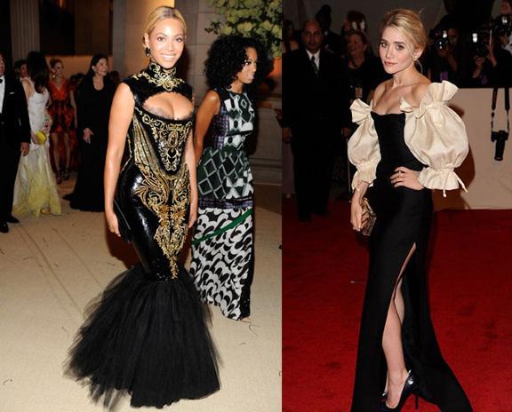 Beyonce, Emilio Pucci, Ashley Olsen, Dior, red carpet fashion, the Met ball