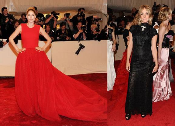 Doutzen Kroes, Giambattista Valli, Chloe Sevigny, Alexander McQueen, red carpet fashion, the Met ball