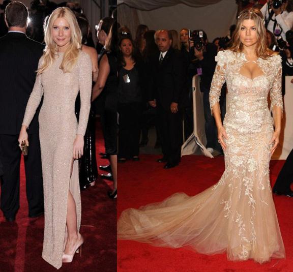 Gwyneth Paltrow, Stella McCartney, Fergie, Marchesa, red carpet fashion, the Met ball