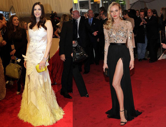 Liz Tyler, Givenchy Couture, Diane Kruger, Jason Wu, red carpet fashion, The Met Ball