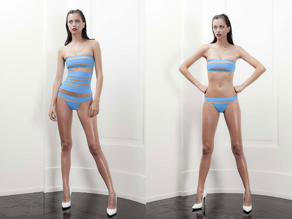 Jean Paul Gaultier, La Perla, designer collaborations, luxury lingerie, swimwear
