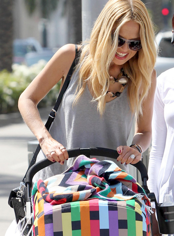 Rachel Zoe, celebrity fashion, Missoni, Bugaboo