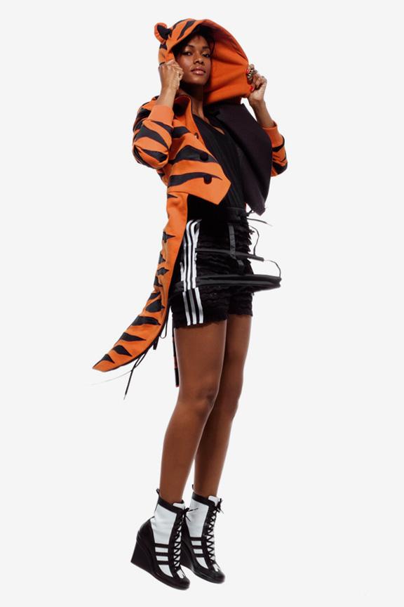 Jeremy Scott, Adidas Originals, nu rave, menswear