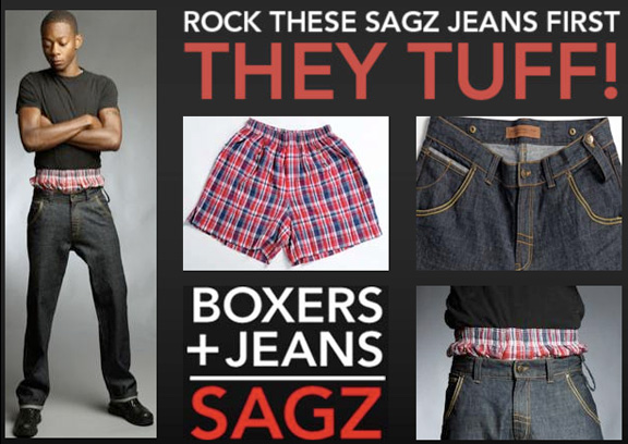 Sagz, skegging, bad fashion