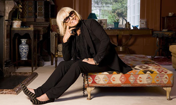 Barbara Hulanicki, fashion chat, fashion interview, Biba