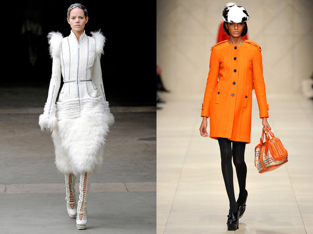 catwalk shows, fall winter 2011, spring summer 2012