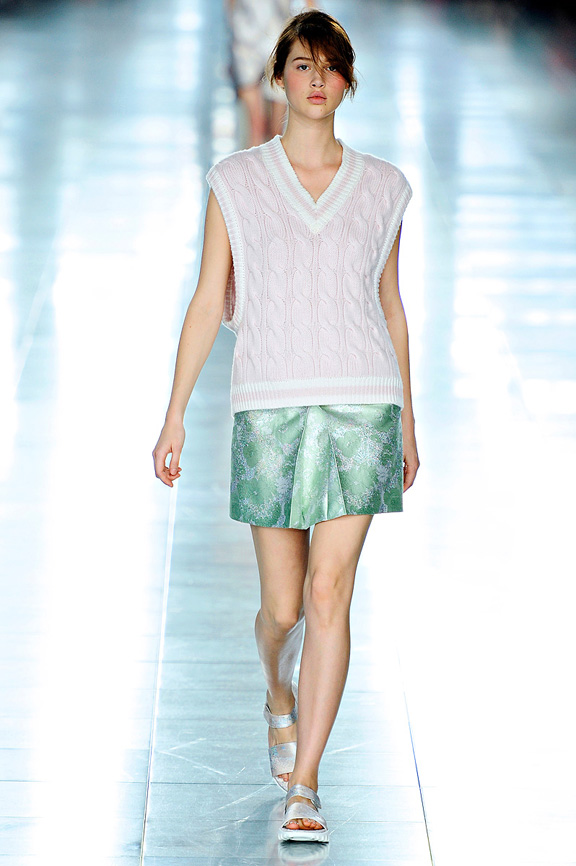Christopher Kane, London fashion week, fashion shows, catwalk, spring summer 2012
