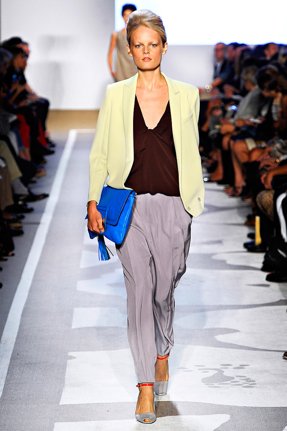 Diane Von Furstenberg, New York fashion week, fashion shows, catw