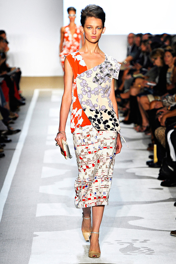 Diane Von Furstenberg, New York fashion week, fashion shows, catwalk, spring summer 2012