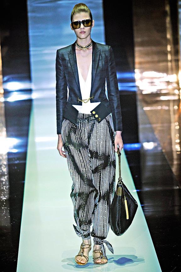 Gucci, Frida Giannini, Milan fashion week, fashion shows, catwalk, spring summer 2012
