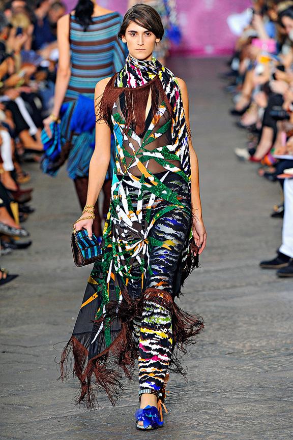Missoni, Milan fashion week, fashion shows, catwalk, spring summer 2012