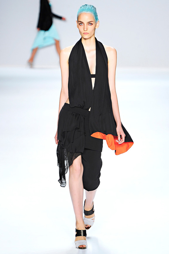 Narciso Rodriguez, New York fashion week, fashion shows, catwalk, spring summer 2012