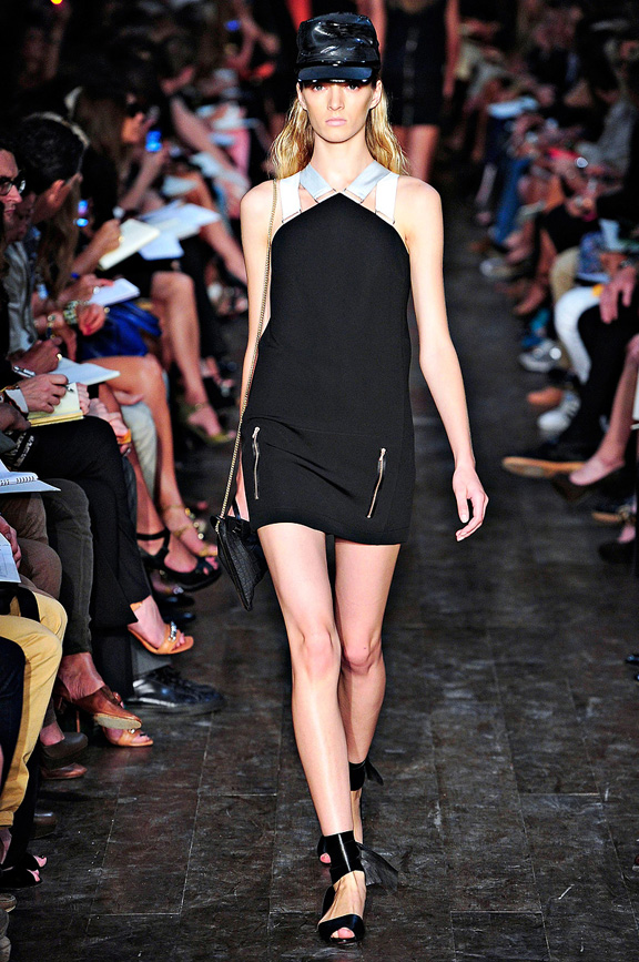 Victoria Beckham, New York fashion week, fashion shows, catwalk, spring summer 2012