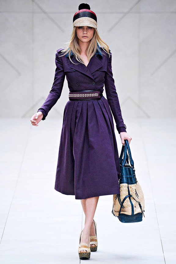 Burberry, Christopher Bailey, London fashion week, fashion shows, catwalk, spring summer 2012