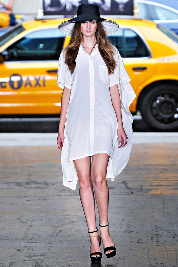 DKNY, Donna Karan, New York fashion week, fashion shows, catwalk, spring summer 2012