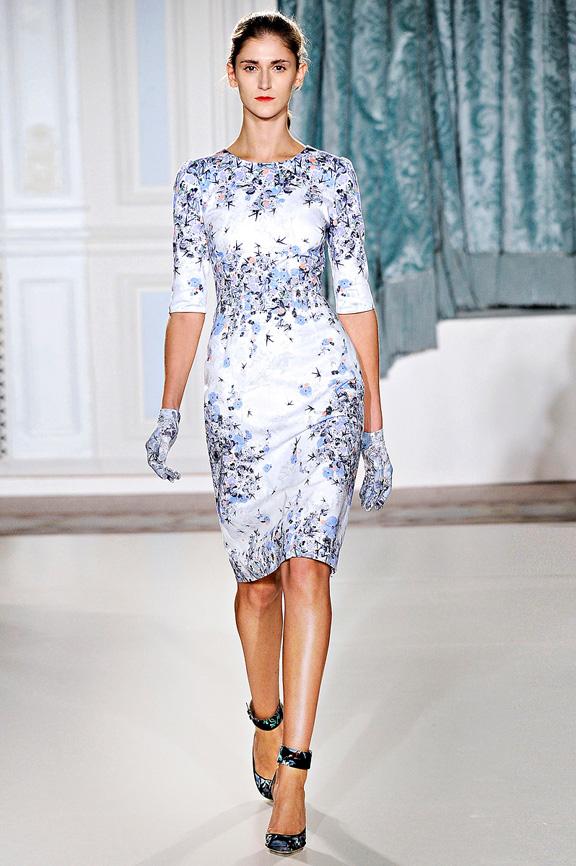 Erdem, London fashion week, fashion shows, catwalk, spring summer 2012
