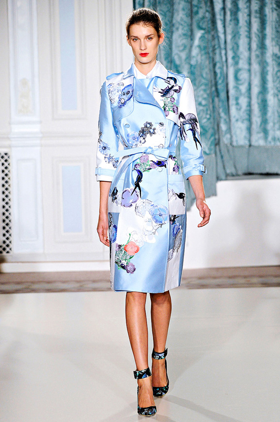 Erdem, London fashion week, fashion shows, catwalk, spring summer 2012