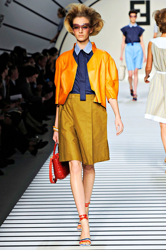 Fendi, Karl Lagerfeld, Milan fashion week, fashion shows,