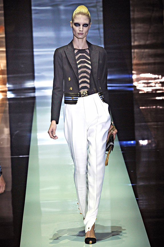 Gucci, Frida Giannini, Milan fashion week, fashion shows, catwalk, spring summer 2012