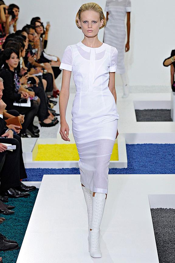 Jil Sander, Raf Simons, Milan fashion week, fashion shows, catwalk, spring summer 2012